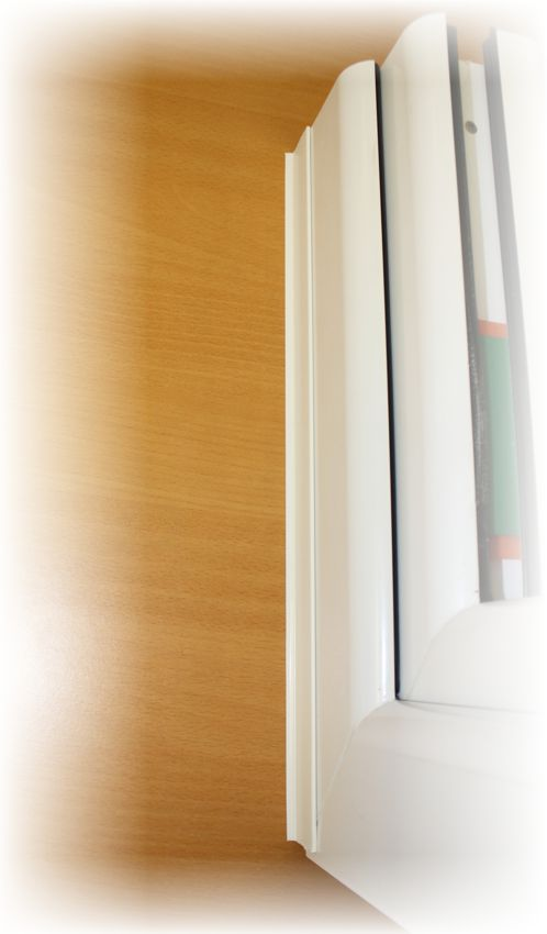heicko e ast gmbh flachdeckleiste pvc wei mit dichtlippe 50 mm breit auf rolle. Black Bedroom Furniture Sets. Home Design Ideas